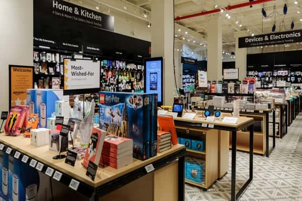 Amazon Opens Its First Non-Food Store in the UK